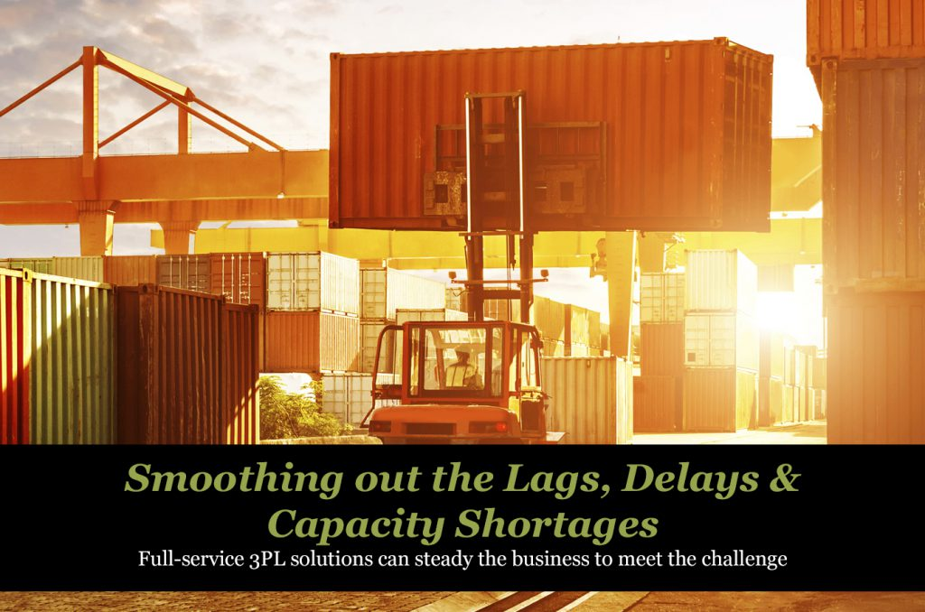 Smoothing out the Lags, Delays and Capacity Shortages